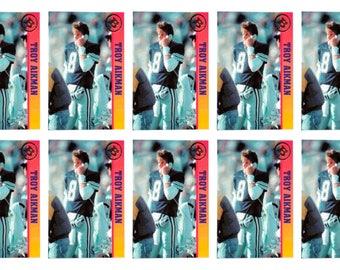 10 - 1993 Ballstreet Troy Aikman Football Card Lot Dallas Cowboys