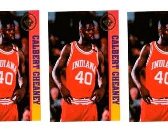 5 - 1993 Ballstreet Calbert Cheaney Basketball Card Lot University of Indiana