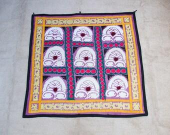 Uzbekistan silk embroidery suzani