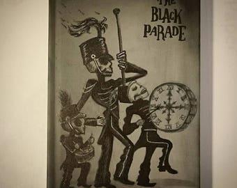 The Black Parade - My Chemical Romance album artwork blank book