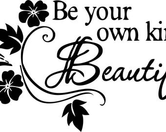 Be your own kind beautiful Printable wall art