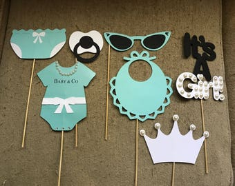 Breakfast at Tiffany's Babyshower Photo Props