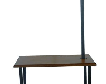 """Leo 64.25"""" Floor Lamp with End Table"""