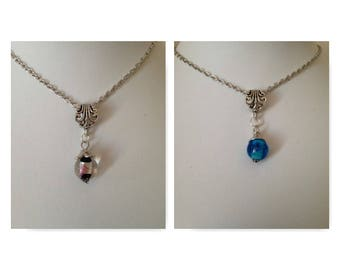 Glass pendant necklaces (2) #glass #pendants #necklaces #oneofakind #handcrafted