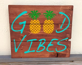 Pineapple Signs Etsy