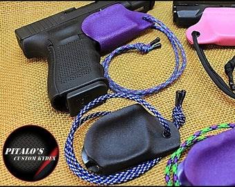 Trigger Guard Holster For A Polish, Raven, Ruger, S&W and SIG, Concealed Carry in your purse or gun bag. Great Gift Idea