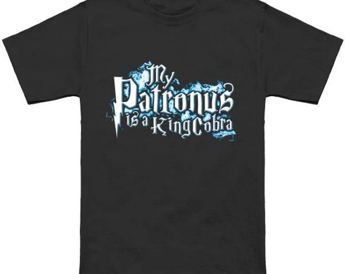 My PATRONUS Is A KING COBRA Custom T-Shirt Magic Animal Charm Fantastic Beasts Wizard Spell Fantasy Shirt