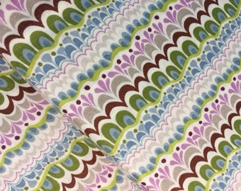 Serenade Fabric by Kate Spain Pattern 27113  - Moda Fabrics Feathers  CT109506 100 Percent Quality Cotton Yardage Rare and OOP