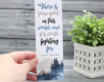 The Is Some Good Bookmark - LOTR Series