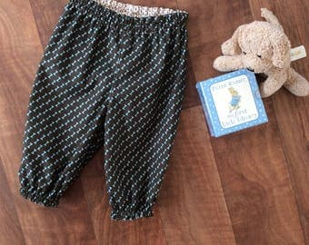 Baby Boys fully lined cotton long pants