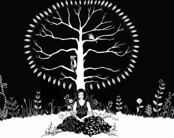 Tree of Life print EWA ART
