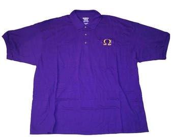 Omega Psi Phi (Lightning Bolt) Polo Shirt
