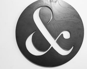 Ampersand | Metal Wall Art | Gallery Wall | Metal Home Decor | Home Decor