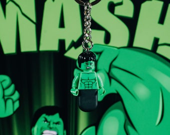 Hulk Lego keychain USB stick (SanDisk)