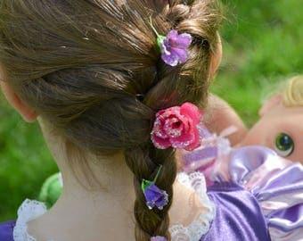 Rapunzel's hairclips