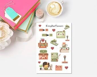 Girl Boss Deco Planner Stickers
