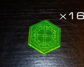 Dropfleet Commander Shield Pack