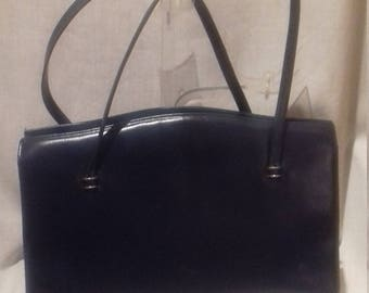 1950s Leather Ladies Handbag