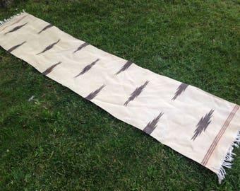 Turkish Rug - Kilim Rug - Area Rug - Handmade Rug - Vintage Rug - Rug - Carpet - Anatolian Rug - Decorative Rug//254 x 55 cm = 8,2 x 1,8 ft