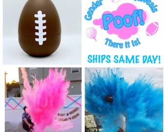 "8"" FOOTBALLS Gender Reveal Football with 8x Powder!!!!"