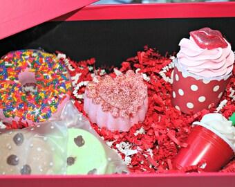 Valentines Day Bubble Bath Bomb Gift Box