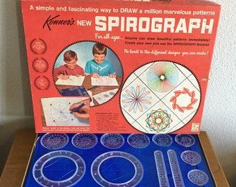 1967 Spirograph Set, Complete in Original Box