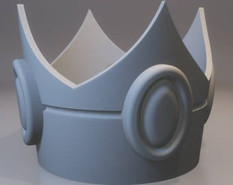 Princess Peach inspired crown from Mario series