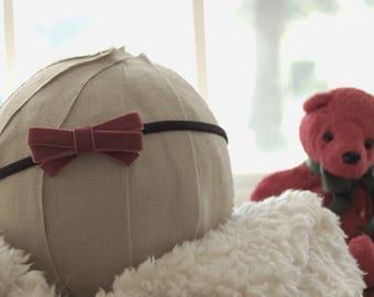 Girls headband | Velvet bow headband baby | Velvet baby bow | Velvet baby headband | Velvet baby bow headband |Baby velvet bow