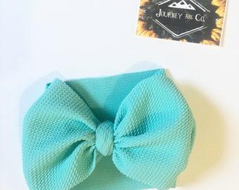 Mint Bow Wrap
