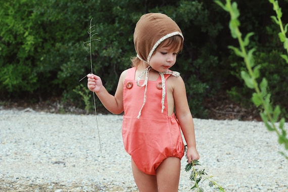 Bubble Romper, Vintage Inspired Romper, Boho Birthday Outfit, Retro Baby Romper, Baby Playsuit, Toddler Fall Outfit, Fall Baby Shower