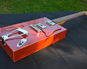 cigar box guitar 6 string