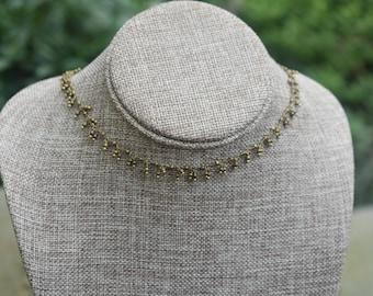 Delicate Dangle Necklace