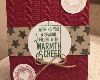 Warmth and Cheer Christmas Cards