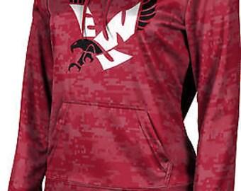 ProSphere Girls' Eastern Washington University Digital Pullover Hoodie (EWU)