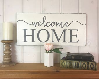 Welcome home signs pictures.