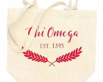 CHI OMEGA Tote Bag