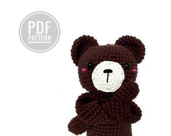 AMIGURUMI pattern teddybear charlie kawaii pdf