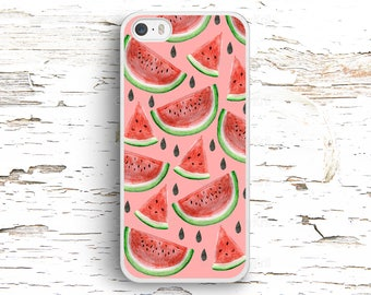 Watermelon Pattern case for iPhone 7 6S 6 SE 5S 5 5C 4S, Samsung Galaxy S6 Edge S5 S4 S3, LG G4 G3, Sony Xperia Z5 Z3, HTC One M8