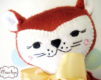 Author's toy from plush Fox. A toy for the little ones.