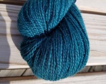 Lady of the Lake ~ Mad Mermaid Fiberworks Hand Dyed Yarn
