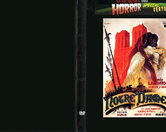 The Hunchback of Notre Dame -1939-DVD-Horror