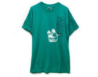 VINTAGE ©1987 Maui, Hawaii Hanes 50/50 T-Shirt