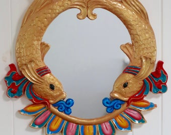 Auspicious Fishes Mirror