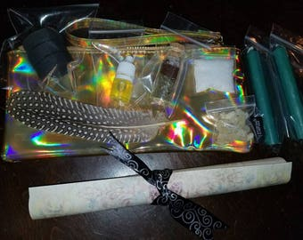 Prosperity spell with bag