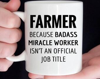 Gift For Farmer, Funny Farmer Appreciation Coffee Mug  (M580)