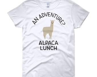 Adventure alpaca lunch shirt