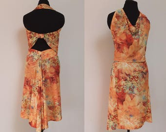BIAGI and TROILO Outfit - Orange Flowers