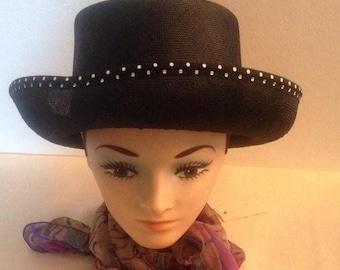 On Sale Vintage Betmar Street Smarts Black Hat