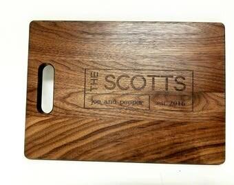 Personalized Bamboo Cutting Board - Full Customization