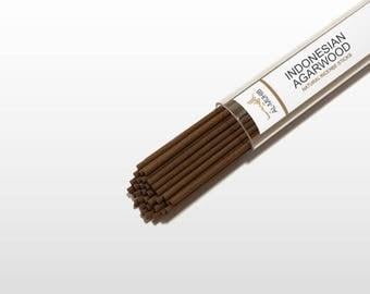 Indonesian agarwood incesence sticks - 100% natural and traditional